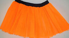 Uv Neon Orange Plus size tutu skirt Dance night rave Fancy halloween christmas