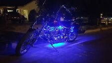 6pc LED Motorcycle H.D UnderGlow NEON Engine Lights Pod Kit For ALL Harley Bikes