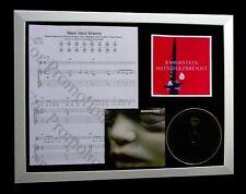 More details for rammstein mein herz brennt quality music ltd framed cd display+fast global ship