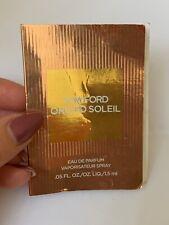 Sample Tom Ford Orchid Soleil Eau de Parfum edp spray  1.2 ml left