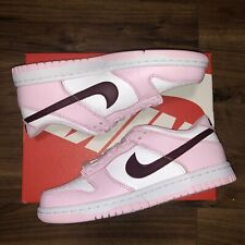 Nike Dunk Low - GS - Pink Foam - White - Red - Valentine - UK4 US4.5 EU36.5