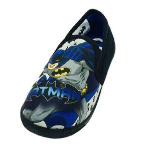 Boys Kids Batman DC Comics Slippers Size 8 9 10 11 12 13 1 2 3 UK Infant Junior