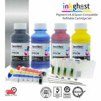 Ink 👻 Pigment Refill 252XL Cartridges & Ink alternative for Epson Workforce