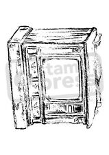 A7 'Old Fashioned TV' Unmounted Rubber Stamp (SP00008821)