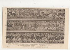 Bayeux Tapestry Vintage Victoria & Albert Museum  Postcard 593a