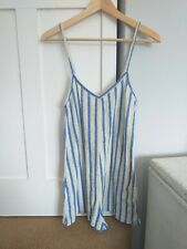 Zara striped Jumpsuit size 8
