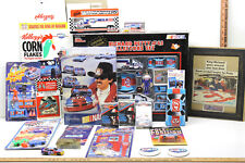 23 Pc Richard Petty Sr #43 Memorabilia Lot Buttons Cards Puzzle Die Cast Cars+++