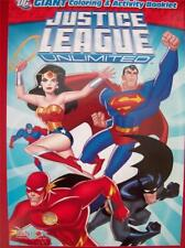 JUSTICE LEAGUE UNLIMITED GIANT COLORING AND ACTIVITY PAD (BRAND NEW)