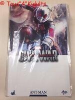 Hot Toys MMS 362 Captain America Civil War Antman Ant Man Scott Lang Paul Rudd