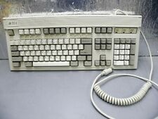 Vintage Magitronic AT XT Focus FK-2001 Clicky Mechanical Keyboard  White Alps