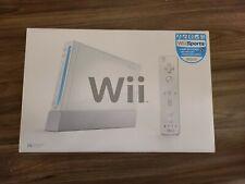 Nintendo Wii System (White) CIB COMPLETE IN BOX TESTED READ DESCRIPTION