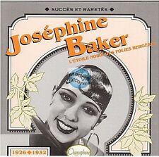 "CD JOSEPHINE BAKER serie ""succes et raretes"" # 103 (772) la petite tonkinoise"