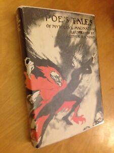 Poe's Tales Of Mystery & Imagination Illustrated By Arthur Rackham HC/DJ