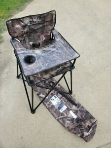 Ciao Baby Camouflage Camping High Chair (Holds up to 35 lbs)