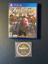 Used Marvel Avengers Playstation 4 Ps4 Usa Seller Free Shipping!