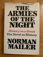 Mailer, Norman THE ARMIES OF THE NIGHT  1st Edition First Printing (Stated) 1968