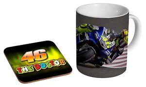 Valentino Rossi Superbike Legend - Coffee / Tea Mug And Coaster Gift Set