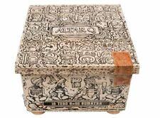 Oscar Valladares Altar Q Toro 8x52 Size Wood Cigar Box Craft Empty No Cigars