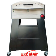 Excelair Portable Outdoor LPG Gas Pizza Oven Stand on Wheels Cordierite Stone