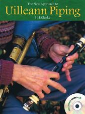 The New Approach to Uilleann Piping Book and CD NEW 014022701