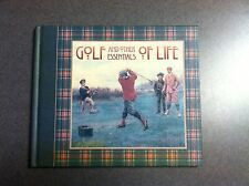1998 Golf And Other Essentials Of Life Hardcover Illustrated Color