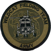 No. 652 Squadron British Army Air Corps Wildcat Fielding Team Embroidered Patch