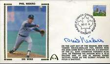PHIL NIEKRO 300 WINS JSA CERT STICKER FDC FIRST DAY COVER AUTHENTIC AUTOGRAPH