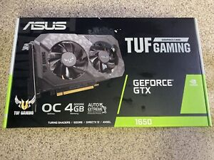 ASUS TUF Gaming NVIDIA GeForce GTX 1650 OC Edition Graphics Card