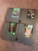 *NES Nintendo Entertainment System (Game Bundle) 4 Games Lot! Great Deal