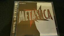 METALLICA UNTIL IT SLEEPS CD 3 TRACK SINGLE