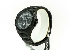 Guess Watch Women's Rhinestone Black Multifunction Watch U1156L4, New