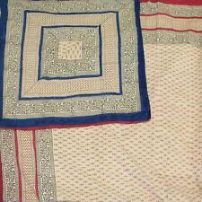 Reversible Duvet Cover 100% Cotton Full Queen Comforter Cover Bedding Bed Linen