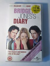 Genuine Original Bridget Jones's Diary VHS (VGC)