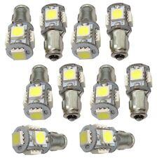 10x ampoule 24V BA7S 5LED SMD lumière blanche effet xénon
