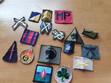GENUINE BRITISH ARMY ISSUE MIXED BUNDLE OF BADGES