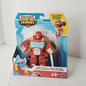 Rescan HEATWAVE Fire Bot Transformers Rescue Bots Academy Playskool 2019 Racecar