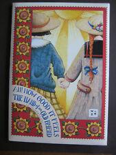 UNUSED 1996 Vintage Mary Engelbreit Stationery Folio set - Hand of an Old Friend