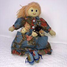 Beautiful Rare Vintage Cornelloki Cloth Doll by April Cornell