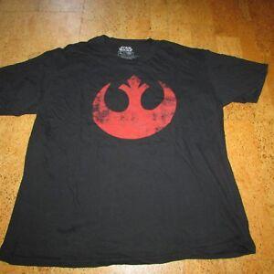 Star Wars T-Shirt Size XL Black