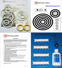 1977 Zaccaria Nautilus Pinball Machine Tune-up Kit - Includes Rubber Ring Kit!