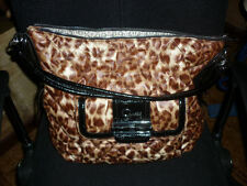 BORSA GRANDE GUESS accessori moda donna ragazza fashion leopardata sera