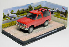 FORD BRONCO II QUANTUM OF SOLACE JAMES BOND 007 UNIVERSAL HOBBIES 1/43 DIRTY