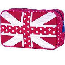 Union Jack Bolsa De Lavado / nueva bandera Mujer Maquillaje organizador de viajes Girl almacenamiento Funda