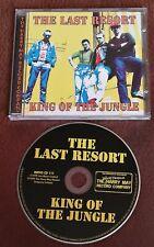 THE LAST RESORT KING OF THE JUNGLE 1999  CD PUNK OI SKINHEAD