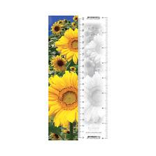 Worth Keeping 3D Lenticular Bookmark/Ruler - SUNFLOWER - #WK-BM-937