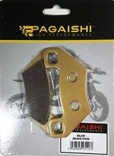 pagaishi ANT O POST PASTIGLIE FRENO per POLARIS HAWKEYE 300 2WD 2006
