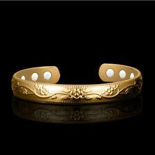 Magnetic Therapy Bangle Bracelet Pure Copper Arthritis Healing Bio Women Bangles
