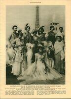 Publicité ancienne Miss France d'outre-mer 1937 issue de magazine