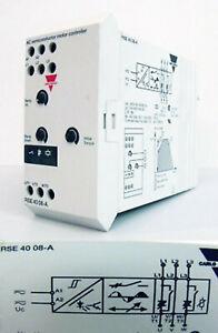 Carlo Gavazzi RSE 40 08-A semiconductor motor controller -used-
