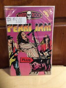 HARD ROCK COMICS (1992) #8 PEARL JAM + SOUNDGARDEN  SHIPPING FIRST CLASS